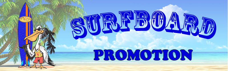Surfboard Promotion